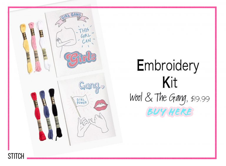 DIY Crafts: Embroidery Kit