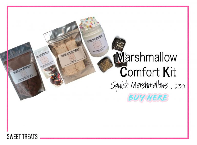 DIY Crafts: Marshmallow Comfort Kit