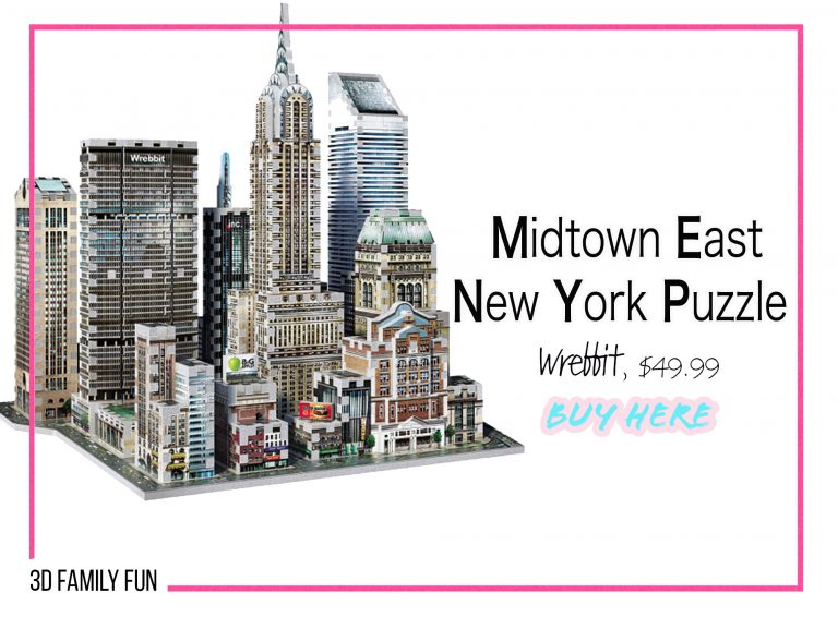 DIY Crafts: Midtown East New York Puzzle