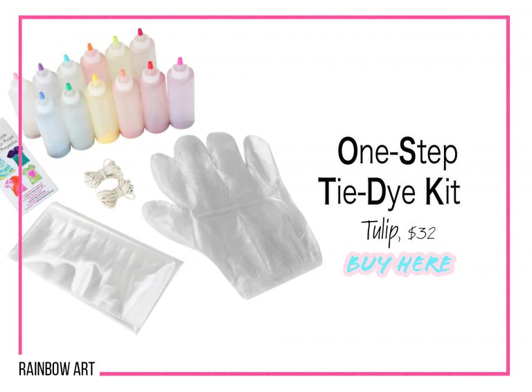 DIY Crafts: One-Step Tie-Dye Kit