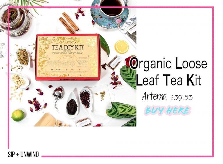 DIY Crafts: Organic Loose Leaf Tea Kit