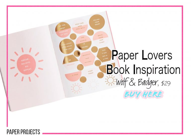 DIY Crafts: Paper Lovers Book Inspiration