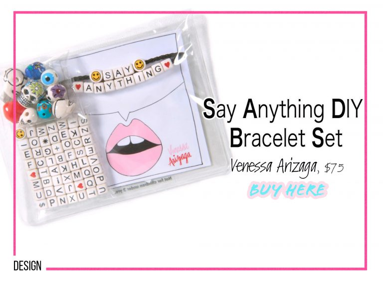 DIY Crafts: Say Anything DIY Bracelet Set