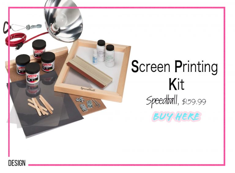 DIY Crafts: Screen Printing Kit