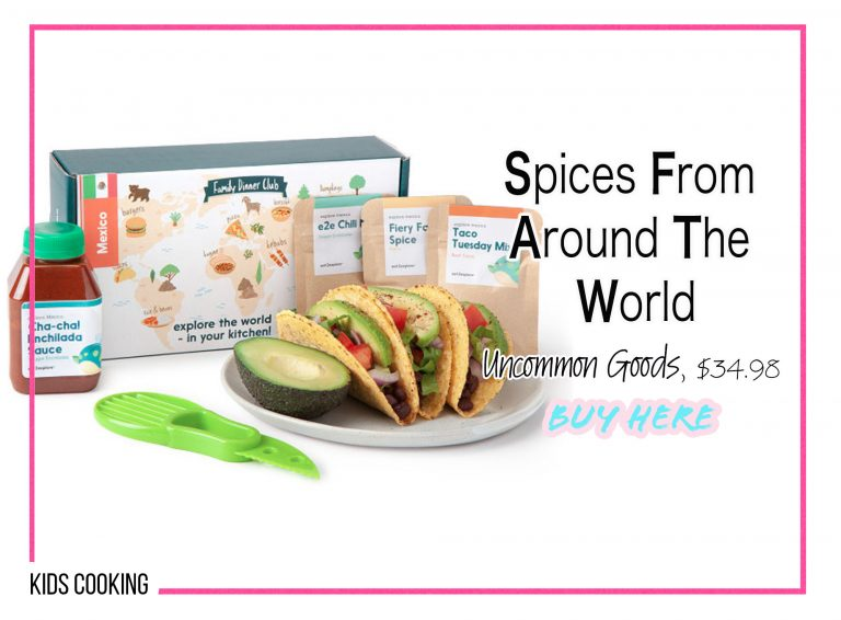 DIY Crafts: Spices From Around The World