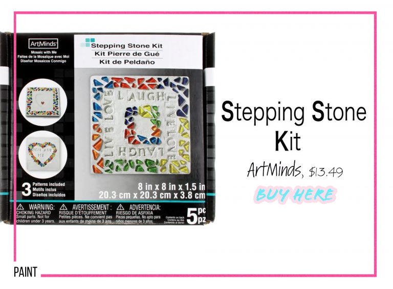 DIY Crafts: Stepping Stone Kit
