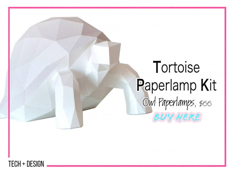 DIY Crafts: Tortoise Paperlamp Kit