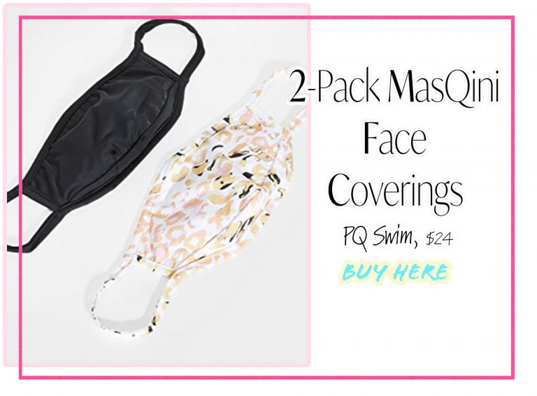 Cloth Face Coverings: 2-Pack MasQini by PQ Swim