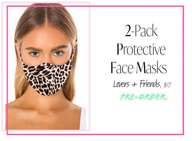 Cloth Face Coverings: 2-Pack by Lovers + Friends