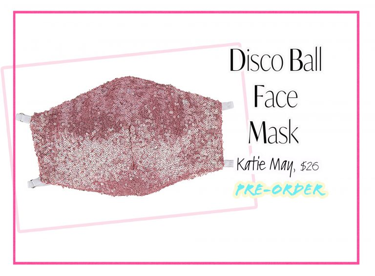 Cloth Face Coverings: Disco Ball Face Mask by Katie May