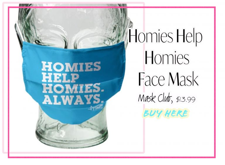 Cloth Face Coverings: Homies Help Homies Face Mask by Mask Club