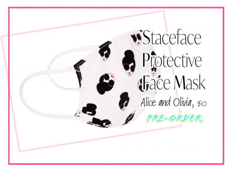 Cloth Face Coverings: Staceface Face Mask by Alice and Olivia