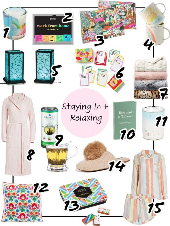 Last-minute Mother's Day Gift: Staying In + Relaxing Ideas