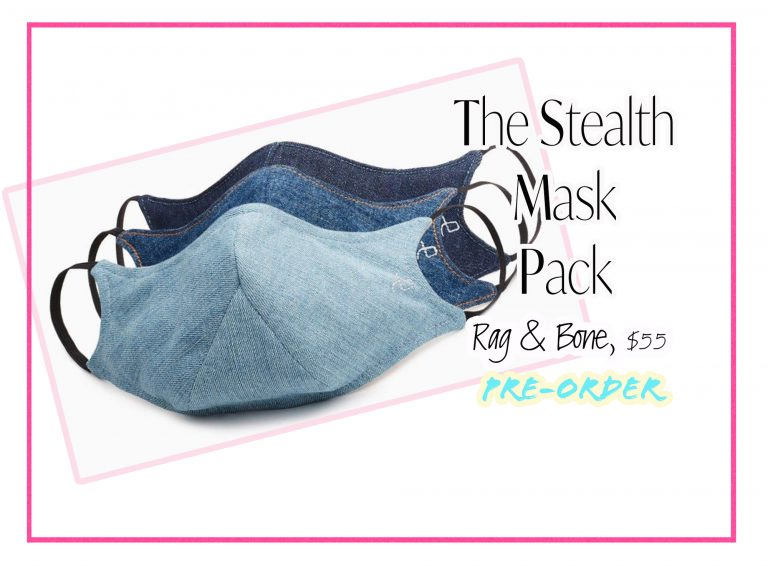 Cloth Face Coverings: The Stealth Mask Pack by Rag & Bone