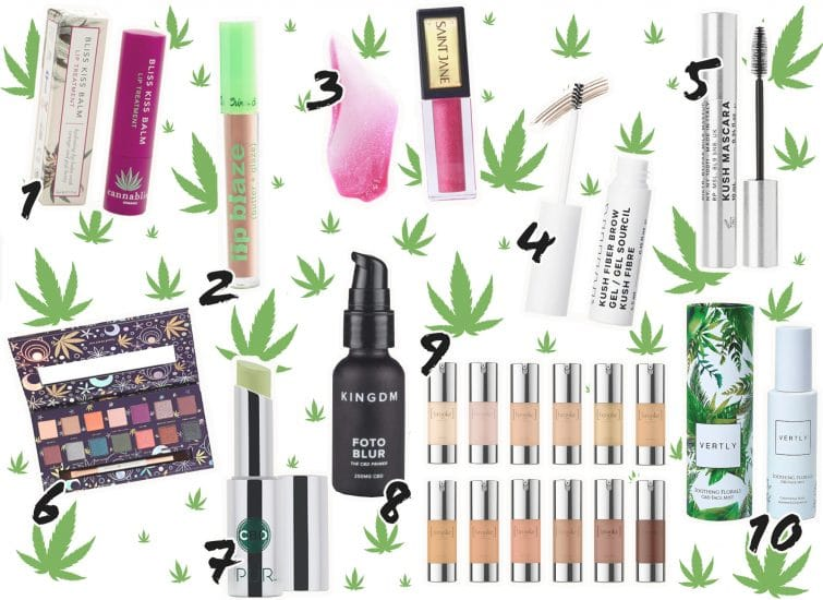 Revamp your Beauty Routine with These CBD Makeup Products