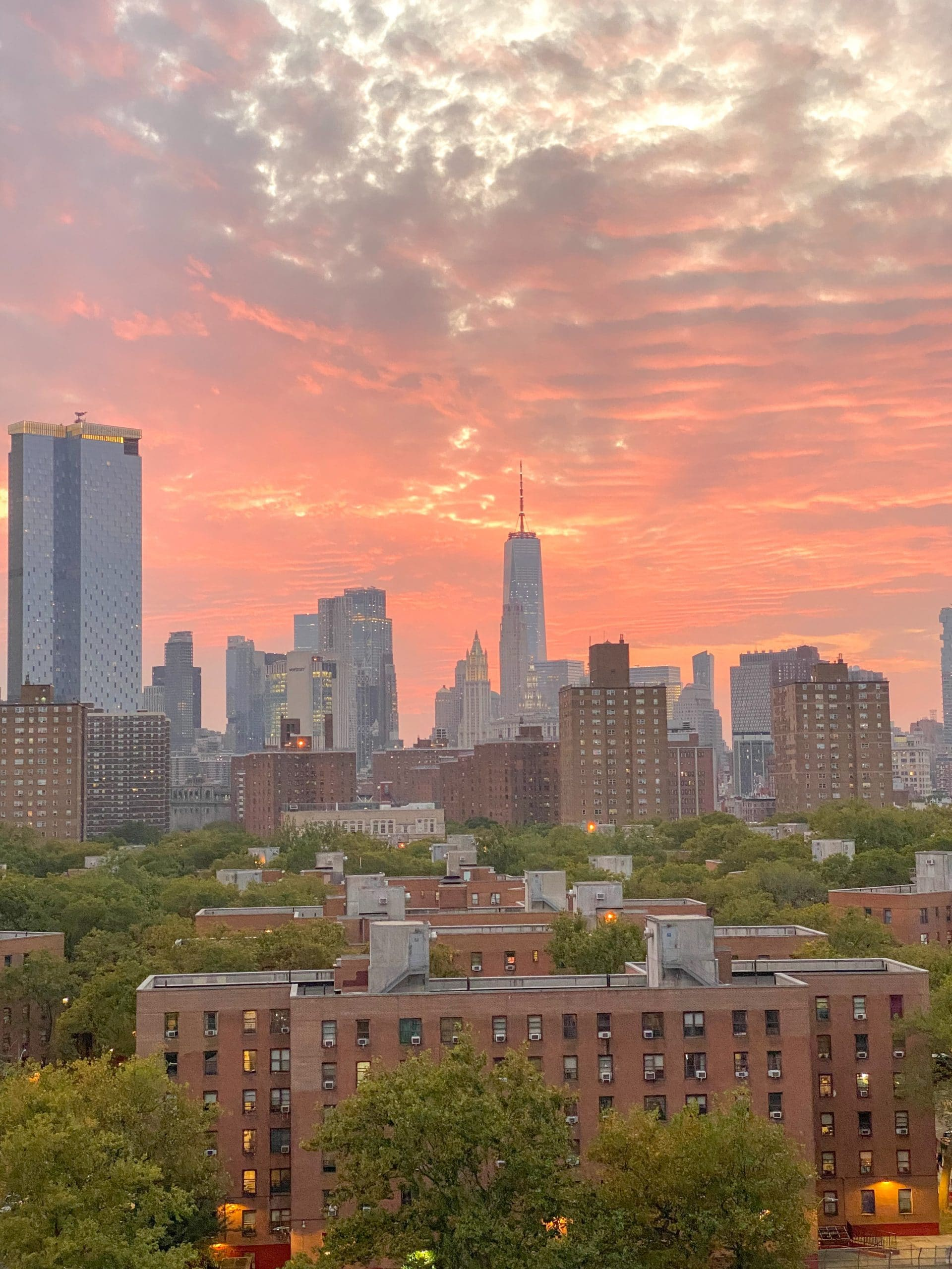What I Loved in September, 2020: NYC sunsets