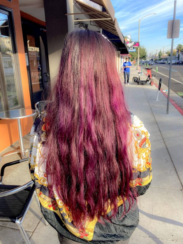 What I Loved in November, 2020: Click image to open expanded view Splat Purple Semi Permanent Hair Color