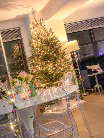 Christmas in NYC: Our colorful Christmas tree