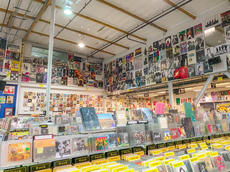Memories of 2020: I was lucky to be able to visit Amoeba Records before it relocated.
