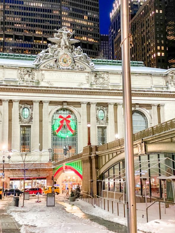 Christmas in NYC: Grand Central Terminal