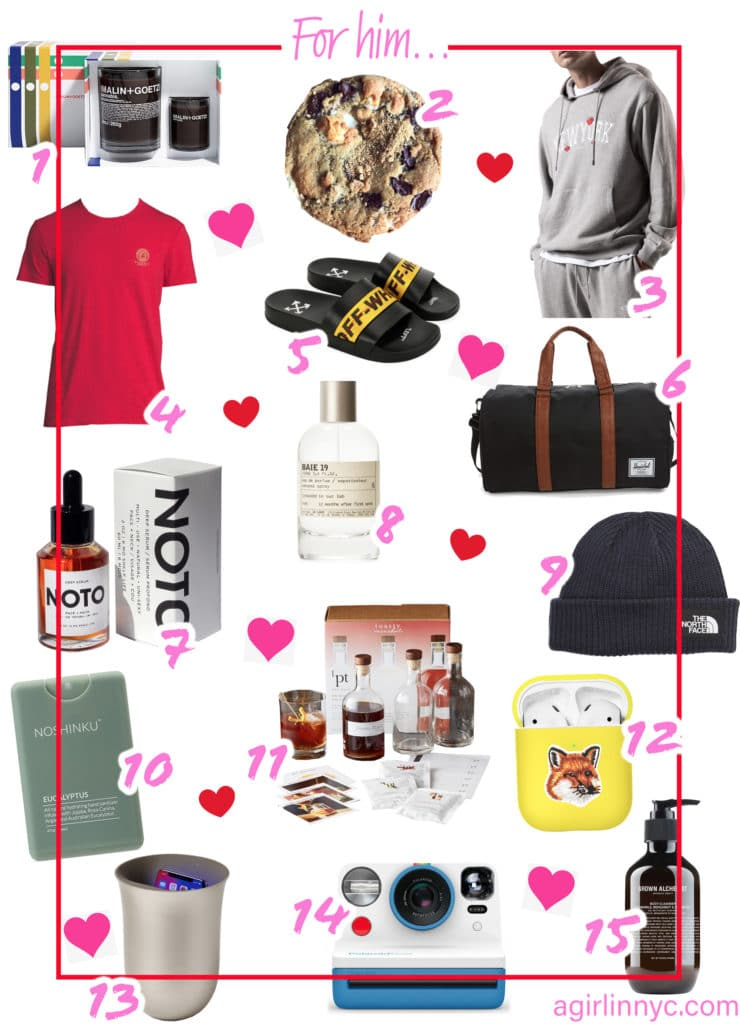 Valentine's Day gift guide ideas for him