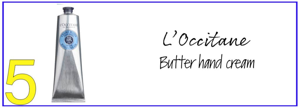 L'Occitane butter hand cream for dry and cracked hands