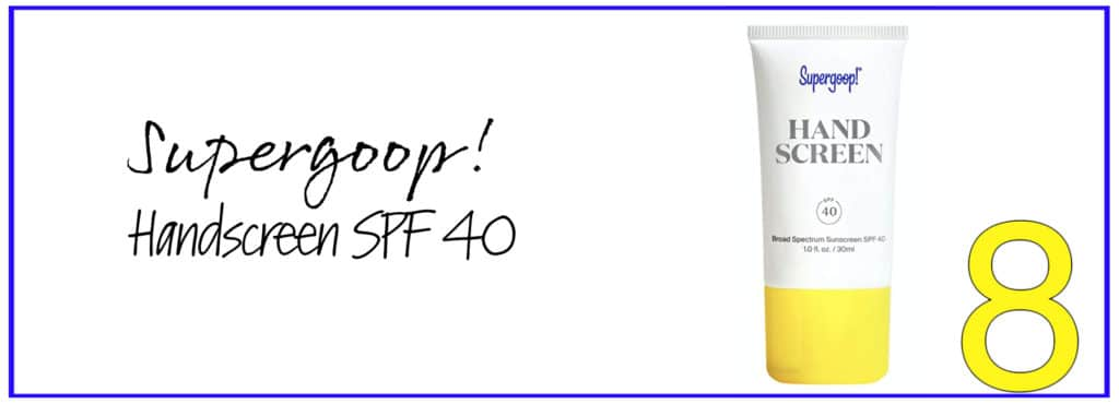 Supergoop! Handscreen SPF 40 for dry and cracked hands