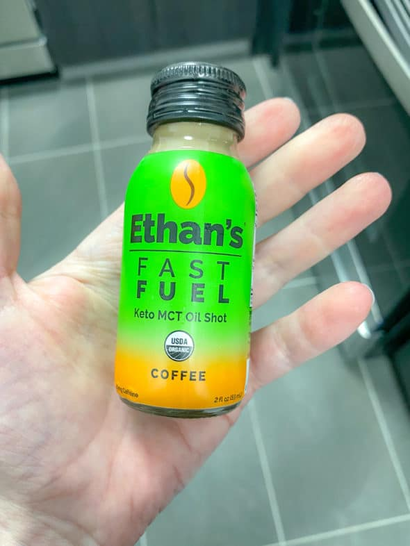 Healthy Lifestyle Choices: A Shot of MCT Oil Before My Workout