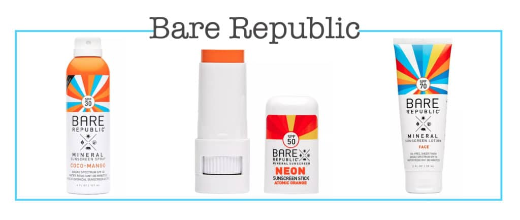 Bare Republic in the Target beauty aisle