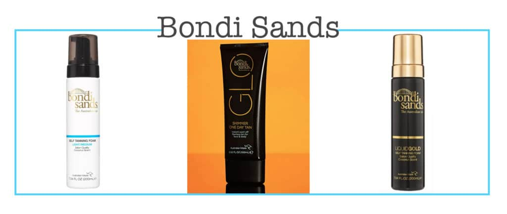 Bondi Sands in the Target beauty aisle