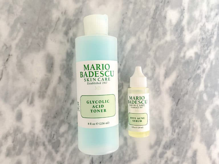 The Beauty Products I Buy On Repeat: Glycolic Acid Toner + Anti-Acne Serum