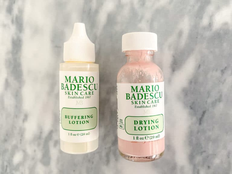 The Beauty Products I Buy On Repeat: Buffering Lotion + Drying Lotion