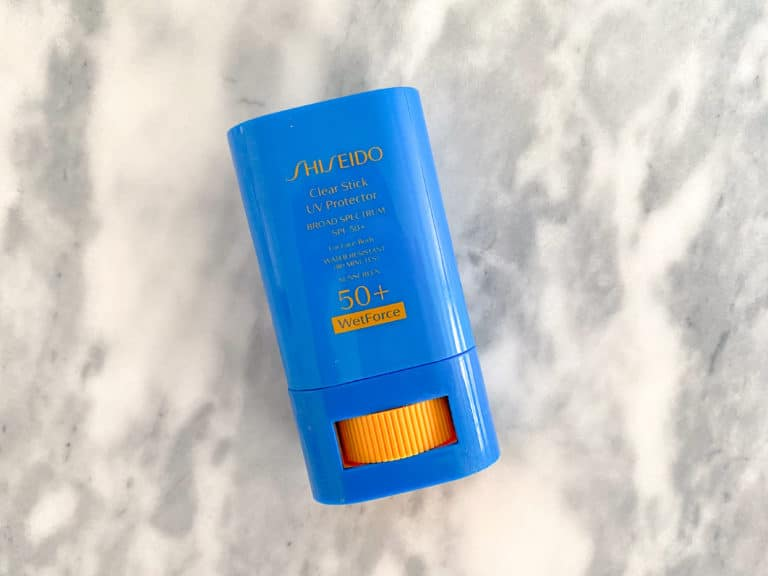The Beauty Products I Buy On Repeat: Shiseido SPF Stick