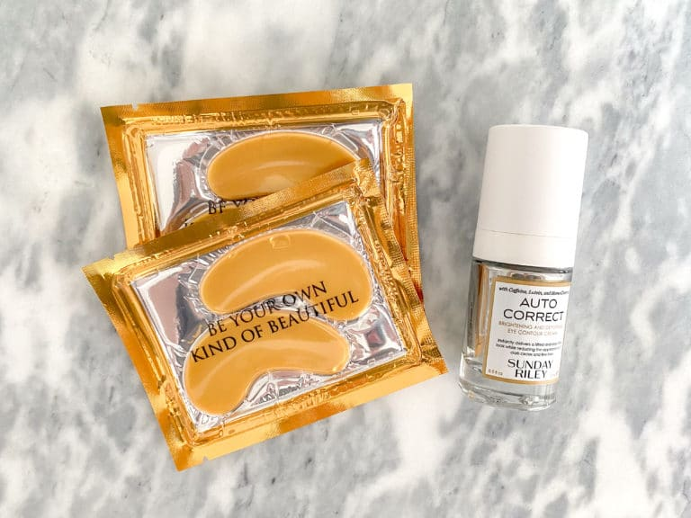 The Beauty Products I Buy On Repeat: Sunday Riley + Eye Masks