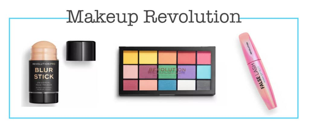 Makeup Revolution in the Target beauty aisle