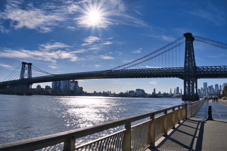 Spring in New York City: a scenic jog along the East River