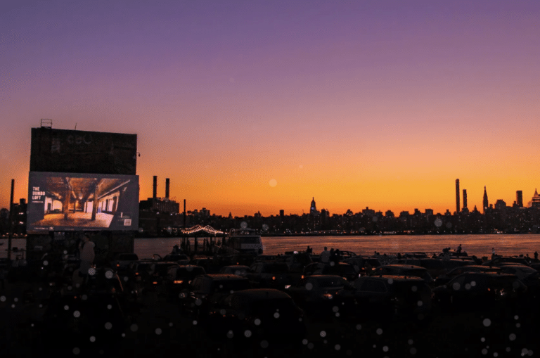 Spring in New York City: seeing a movie at the Skyline Drive-In