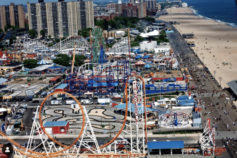 Spring in New York City: a day in Coney Island