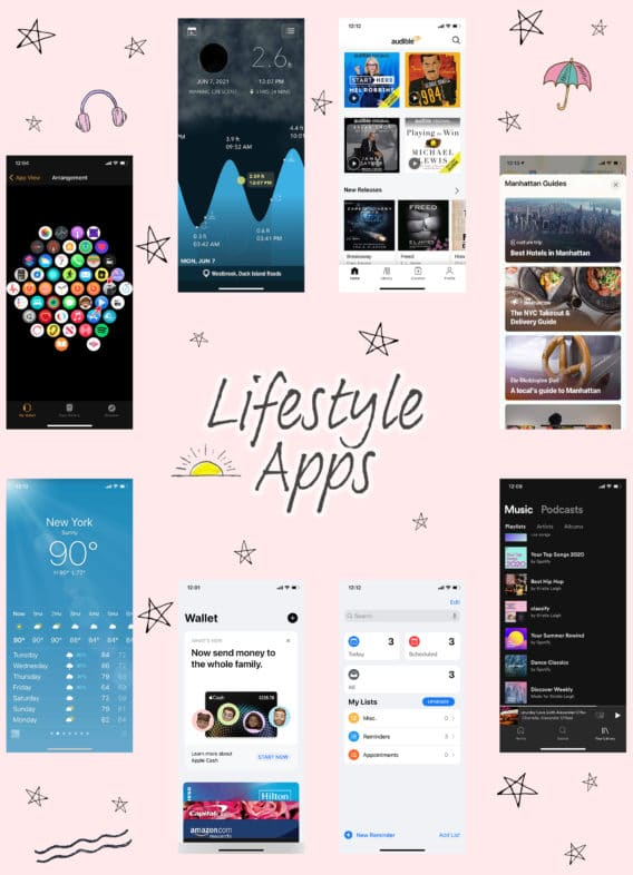 Apple Watch Lifestyle Apps