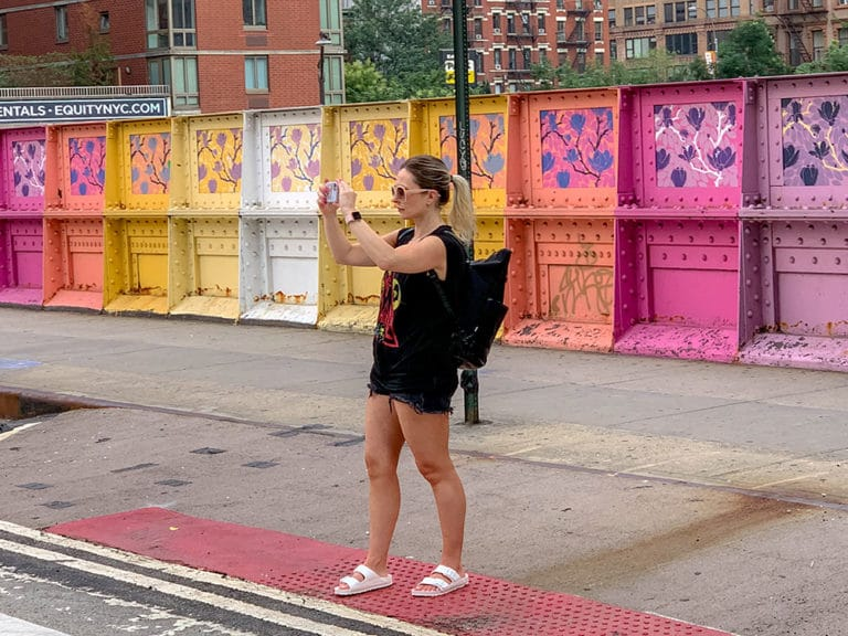 Memories of the summer: colorful street art in NYC