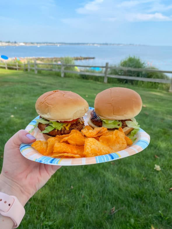 Memories of the summer: Impossible burgers by the beach