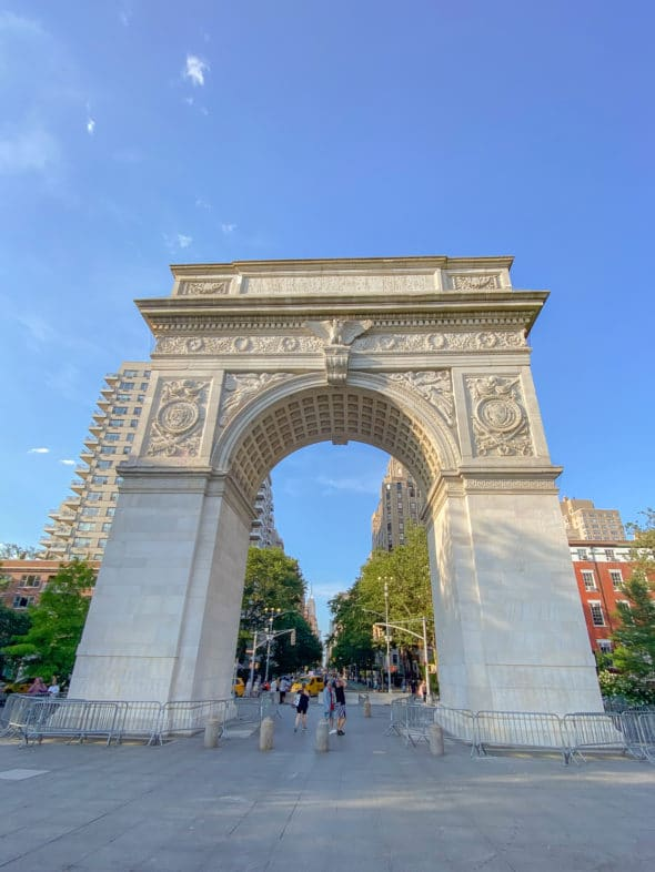 Memories of the summer: The 1918 Victory Arch