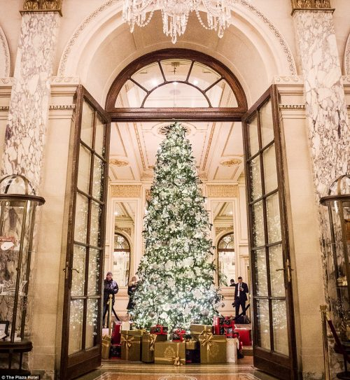The holidays in New York City